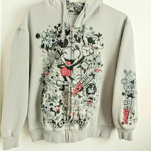 Disneylamd Walt Disney Graphic Hooded Jacket